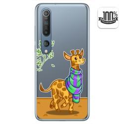 Funda Gel Transparente para Xiaomi Mi 10 / Mi 10 Pro diseño Jirafa Dibujos