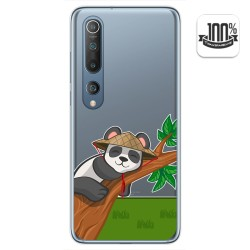 Funda Gel Transparente para Xiaomi Mi 10 / Mi 10 Pro diseño Panda Dibujos