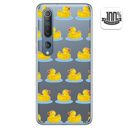 Funda Gel Transparente para Xiaomi Mi 10 / Mi 10 Pro diseño Pato Dibujos