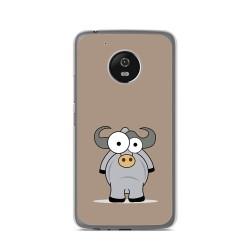 Funda Gel Tpu para Lenovo Moto G5 Diseño Toro Dibujos