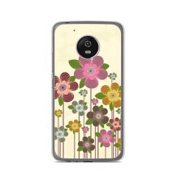 Funda Gel Tpu para Lenovo Moto G5 Diseño Primavera En Flor Dibujos