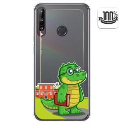 Funda Gel Transparente para Huawei P40 Lite E diseño Coco Dibujos