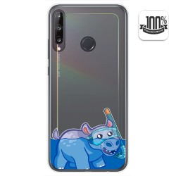 Funda Gel Transparente para Huawei P40 Lite E diseño Hipo Dibujos