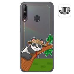 Funda Gel Transparente para Huawei P40 Lite E diseño Panda Dibujos