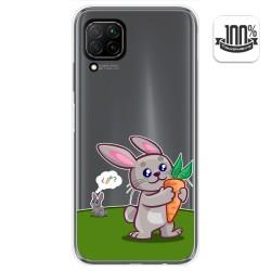 Funda Gel Transparente para Huawei P40 Lite diseño Conejo Dibujos