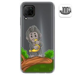 Funda Gel Transparente para Huawei P40 Lite diseño Mono Dibujos