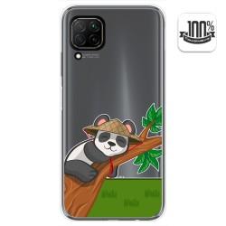 Funda Gel Transparente para Huawei P40 Lite diseño Panda Dibujos