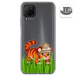 Funda Gel Transparente para Huawei P40 Lite diseño Tigre Dibujos