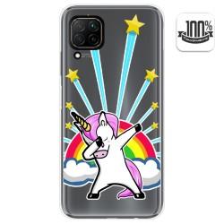 Funda Gel Transparente para Huawei P40 Lite diseño Unicornio Dibujos