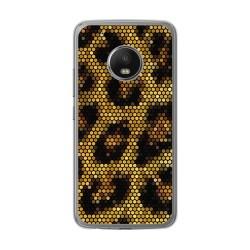 Funda Gel Tpu para Lenovo Moto G5 Plus Diseño Leopardo Dibujos