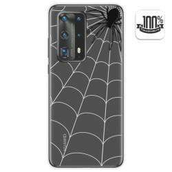 Funda Gel Transparente para Huawei P40 Pro diseño Araña Dibujos
