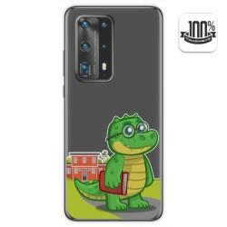 Funda Gel Transparente para Huawei P40 Pro diseño Coco Dibujos