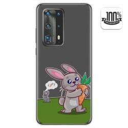 Funda Gel Transparente para Huawei P40 Pro diseño Conejo Dibujos