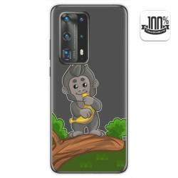 Funda Gel Transparente para Huawei P40 Pro diseño Mono Dibujos