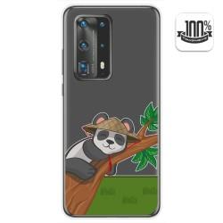 Funda Gel Transparente para Huawei P40 Pro diseño Panda Dibujos