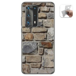 Funda Gel Tpu para Huawei P40 Pro diseño Ladrillo 03 Dibujos