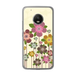 Funda Gel Tpu para Lenovo Moto G5 Plus Diseño Primavera En Flor Dibujos