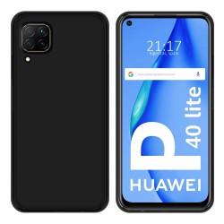 Funda Silicona Gel TPU Negra para Huawei P40 Lite