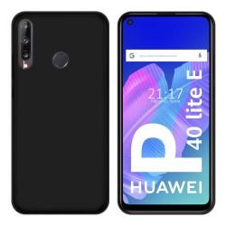 Funda Silicona Gel TPU Negra para Huawei P40 Lite E