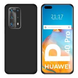 Funda Silicona Gel TPU Negra para Huawei P40 Pro