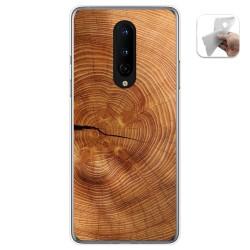 Funda Gel Tpu para OnePlus 8 diseño Madera 04 Dibujos