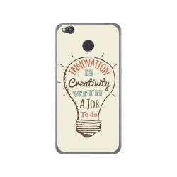 Funda Gel Tpu para Xiaomi Redmi 4X Diseño Creativity Dibujos