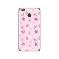 Funda Gel Tpu para Xiaomi Redmi 4X Diseño Flores Dibujos