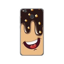 Funda Gel Tpu para Xiaomi Redmi 4X Diseño Helado Chocolate Dibujos