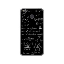 Funda Gel Tpu para Xiaomi Redmi 4X Diseño Formulas Dibujos