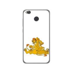 Funda Gel Tpu para Xiaomi Redmi 4X Diseño Leones Dibujos