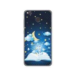 Funda Gel Tpu para Xiaomi Redmi 4X Diseño Libro Cuentos Dibujos