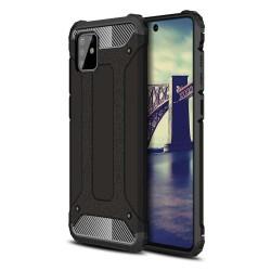 Funda Tipo Hybrid Tough Armor (Pc+Tpu) Negra para Samsung Galaxy Note 10 Lite