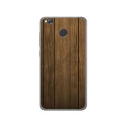 Funda Gel Tpu para Xiaomi Redmi 4X Diseño Madera Dibujos