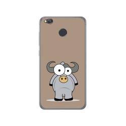 Funda Gel Tpu para Xiaomi Redmi 4X Diseño Toro Dibujos