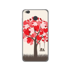 Funda Gel Tpu para Xiaomi Redmi 4X Diseño Pajaritos Dibujos