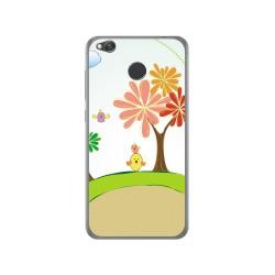 Funda Gel Tpu para Xiaomi Redmi 4X Diseño Primavera Dibujos