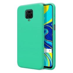 Funda Silicona Líquida Ultra Suave para Xiaomi Redmi Note 9S / Note 9 Pro color Verde