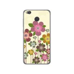 Funda Gel Tpu para Xiaomi Redmi 4X Diseño Primavera En Flor Dibujos
