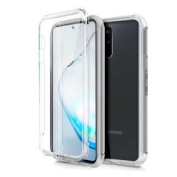 Funda Completa Transparente Pc + Tpu Full Body 360 para Samsung Galaxy Note 10 Lite