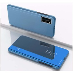 Funda Flip Cover Clear View para Huawei P40 color Azul