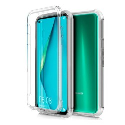 Funda Completa Transparente Pc + Tpu Full Body 360 para Huawei P40 Lite