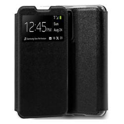 Funda Libro Soporte con Ventana para Huawei P40 Negra