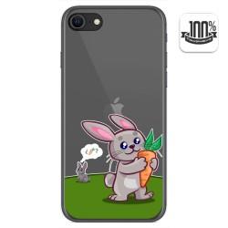 Funda Gel Transparente para Iphone SE 2020 diseño Conejo Dibujos