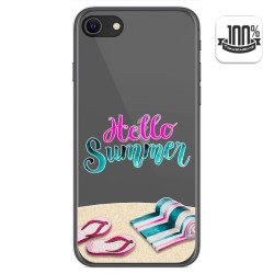 Funda Gel Transparente para Iphone SE 2020 diseño Summer Dibujos