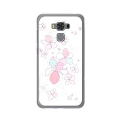 """Funda Gel Tpu para Asus Zenfone 3 Max 5.5"""" Zc553Kl Diseño Flores Minimal Dibujos"""