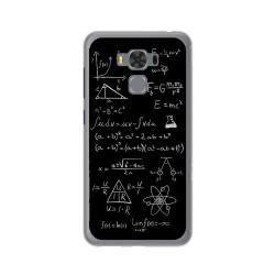 """Funda Gel Tpu para Asus Zenfone 3 Max 5.5"""" Zc553Kl Diseño Formulas Dibujos"""