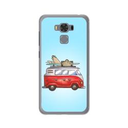 """Funda Gel Tpu para Asus Zenfone 3 Max 5.5"""" Zc553Kl Diseño Furgoneta Dibujos"""
