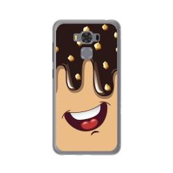 "Funda Gel Tpu para Asus Zenfone 3 Max 5.5"" Zc553Kl Diseño Helado Chocolate Dibujos"