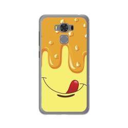 "Funda Gel Tpu para Asus Zenfone 3 Max 5.5"" Zc553Kl Diseño Helado Vainilla Dibujos"
