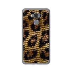 "Funda Gel Tpu para Asus Zenfone 3 Max 5.5"" Zc553Kl Diseño Leopardo Dibujos"